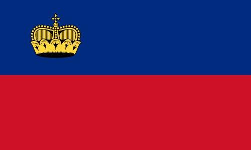Liechtenstein Large Flag 90 x 150 cm - One Size
