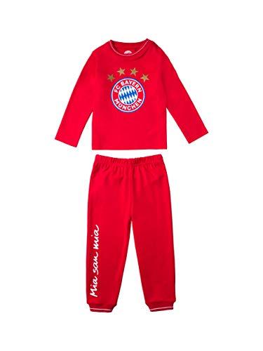 FC Bayern München Baby Schlafanzug Logo, 110