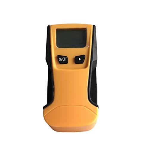 ST250 3-in-1 Wood Studs Finder Metal Detector LCD retroilluminato AC portatile tenuto in mano Live Wire Detector Scanner parete (arancione & nero)