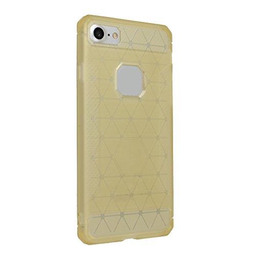 iPhone 7 Hülle, Asnlove Ultra Slim TPU Silikon Backcover Case Taschen Handy Schutzhülle Rutschfest für iPhone 7 4.7 Zoll - Grau Style-6