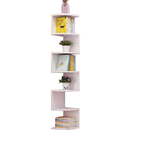 r Etagenwandmontage, Espresso-Finish, 5/7-Etagenwandregale, Dekorationsweiß (Size : 168 * 26cm) ()