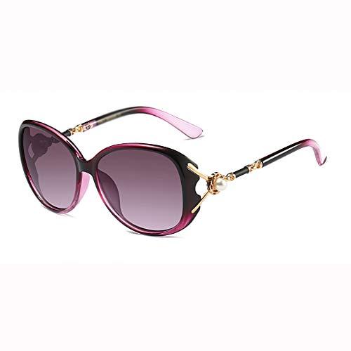 Gububi Retro Sportbrillen elegantem Sonnenbrillen großem Rahmen Modebrillen Mode Outdoorbrillen HK-37 (B)