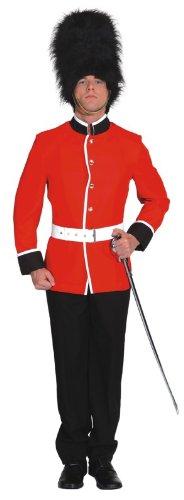 Beefeater Soldat zu Karneval Fasching Gr.54 ()