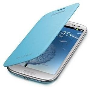 Samsung (EFC-1G6FLECINU) Flip Cover for Samsung Galaxy S3 (Light Blue)