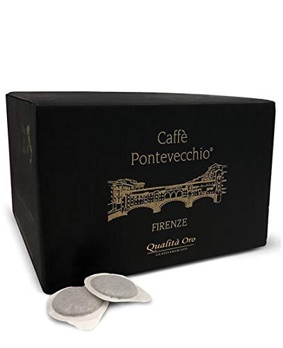 Caffè Pontevecchio Firenze - Papierkapseln - Premium Gold Quality - Arabica - Zarter Geschmack (Box 50 Kapseln)