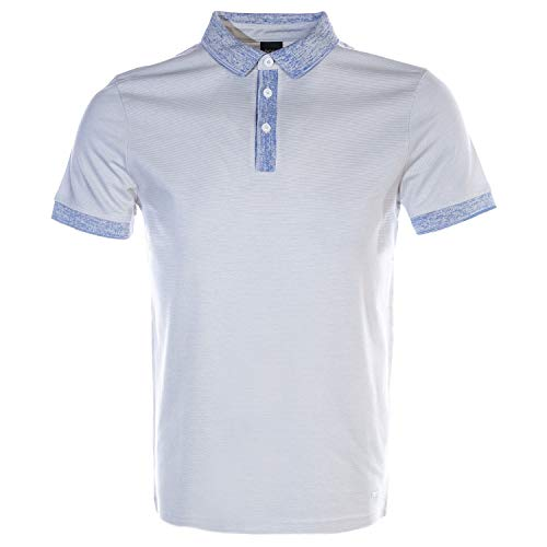 BOSS Punch Polo Shirt in White 2XL -
