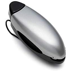 WESEEDOO Autoglashalter Sonnenbrillen-Visierclip Autoglasklammer Auto-Visier-Ticket-Clip für Brillen, Sonnenbrillen oder Tickets (grau)