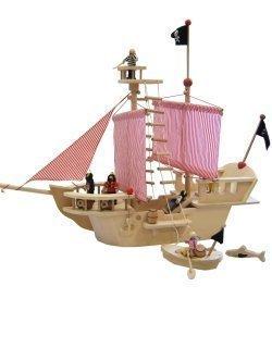 Estia Piratenschiff Spielzeug mit Zubehör