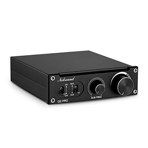 300 Subwoofer (Nobsound G2 PRO 300W Mini HiFi Subwoofer/Full-Frequency Mono Leistungsverstärker Power Amplifier)