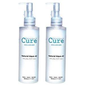 2-pack-of-cure-natural-aqua-gel-250ml-best-selling-exfoliator-in-japan
