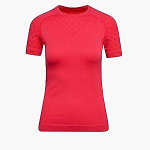 Diadora L. SS T-Shirt ACT – Damen SKI- & SPORTUNTERWÄSCHE – Hidden Power Active – Größe S/M (RED Flame)