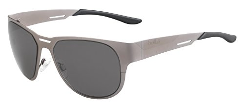 bollé Erwachsene Perth Sonnenbrille, Matte Grey, Medium
