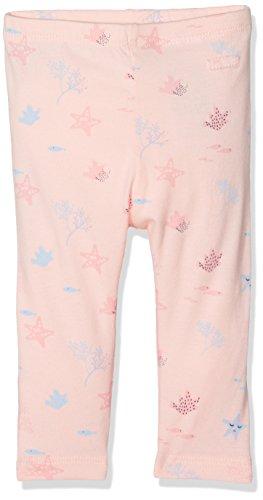 TOM TAILOR Kids Baby - Mädchen Legging allover printed leggings 68291280021, Gr. 62, Rosa (Rose Cream 4540)