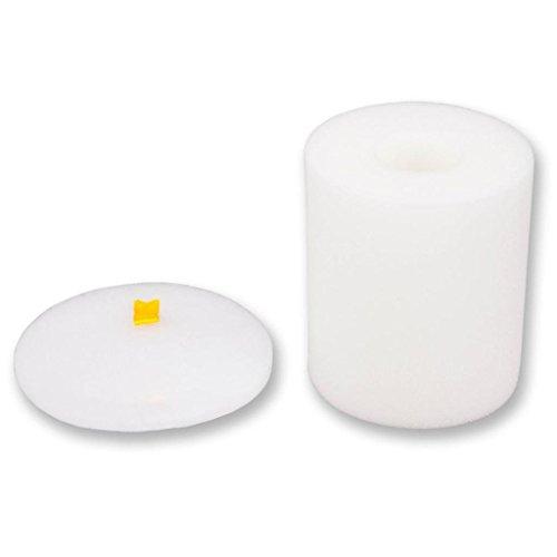 Juego de filtro de espuma, Lanowo filtro HEPA y el Kit de Limpieza de espuma aplicable para Shark Rotator Pro Lift-Lejos NV500 NV501 NV505 NV552 Filtros de repuesto