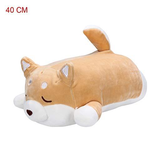 Plüsch Bildung Squishy Spielzeug aufblasbares Spielzeug im Freien Spielzeug,Anime Shiba Inu Plüsch Gefüllte Sotf Kissen Puppe Cartoon Doggo Nette Shiba Stofftier ()