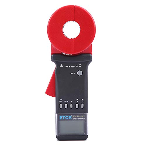 Hanchen Digital Klemme Boden Erde Widerstand Tester Meter 1-199Ω ETCR2100A+ Security Tester