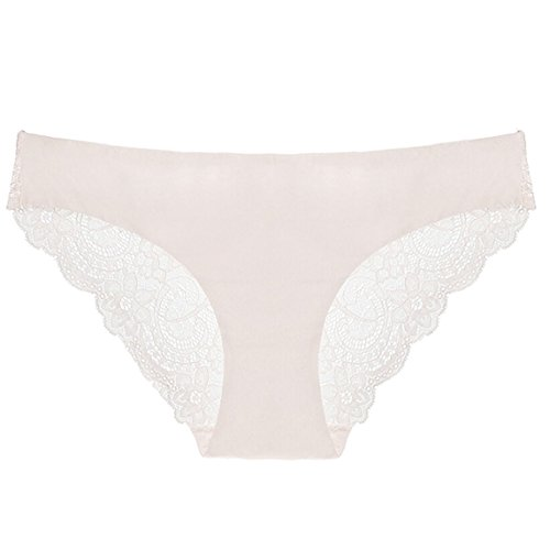 security Women's Sexy Hipster Seamless Lace Spandex Underwear Lace Brief