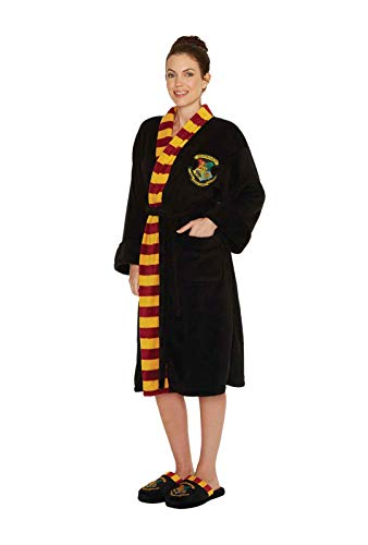 Full Kostüm Mann Iron - Groovy UK Harry Potter Hogwarts Damen Bademantel, Einheitsgröße