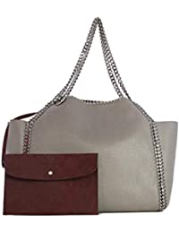 d9ec7718fb Amazon.it  stella mccartney borse - Borse Tote   Donna  Scarpe e borse