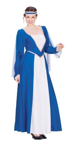 Prezer Renaissance Lady Hofdame blau Kostüm - Hofdame Renaissance Kostüm