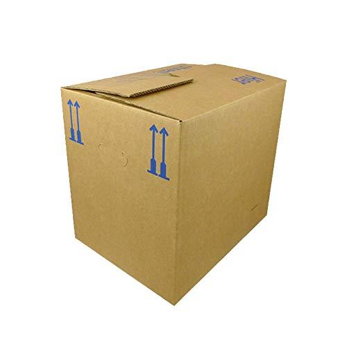 10 Stück Umzugskarton Bücherkarton 450 x 335 x 375 mm TOP Qualität 56 Liter