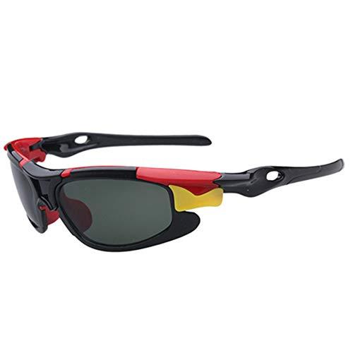 Wang-RX Kinder TAC Polarisierte Brille Baby Kinder Sonnenbrille UV400 Sonnenbrille Jungen Mädchen Nette Coole Brille