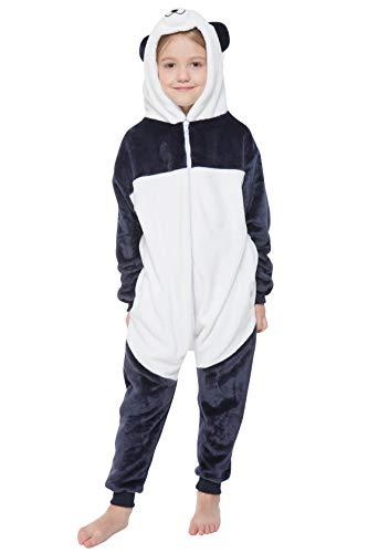 corimori 1851 Grenouillère Enfant, Combinaison Pyjama Pour Garçons Et Filles, Kigurumi Animal, Mei Le Panda, Taille 3-5 Ans