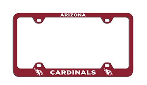 Fremont Die NFL Arizona Cardinals Laser Nummernschild Rahmen, One Size, Team Farbe