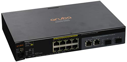 HP Aruba 2530-8G-PoE+ Switch (8-Port, RJ-45)