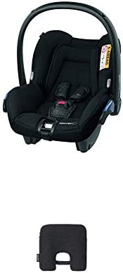 Bébé Confort Seggiolino Auto Citi Ovetto Neonato 0-13 Kg, Nomad Black, con Dispositivo Antiabbandono, Nero