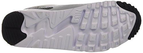 Nike Air Max 90 Ultra Essential, Scarpe da Ginnastica Uomo Bianco (White/Black/Wolf Grey)