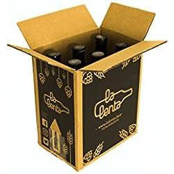 Cerveza artesanal Optimista / Pesimista de La Lenta (6 botellas de 33cl)