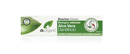 Dr.Organic Aloe Vera Dentifricio 100 ml