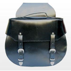 Borse laterali 38 litri per harley moto custom (sb-119)