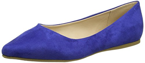 Another Pair of Shoes BeatrisE1, Ballerines femme, Bleu (dark blue70), 38 EU