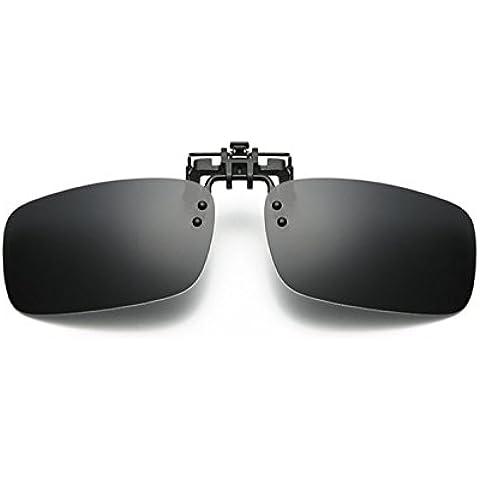UK1stChoice-Zone Nero Clip Su Occhiali da Sole Lenti Polarizzate