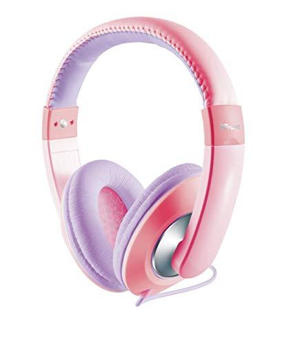 Trust Sonin Kopfhörer für Kinder rosa