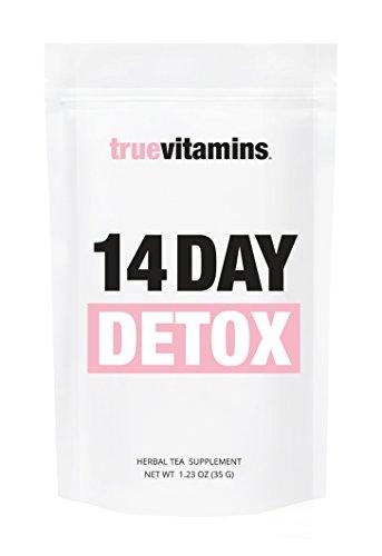 Preisvergleich Produktbild 14 DAY DETOX Tee - zum Stoffwechsel anregen und Körper entgiften. Wohlschmeckende Detox-Kur für 14 Tage. Für alle, die gesund abnehmen und entschlacken wollen oder eine Stoffwechseldiät vornehmen.