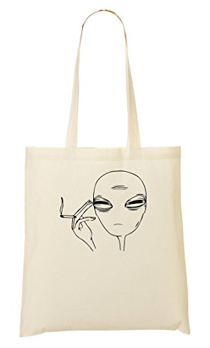 Stoned Old Alien Tragetasche Einkaufstasche