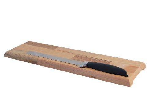 Tagliere salame con coltello forgiato