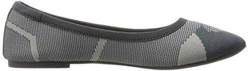 Skechers Cleo Wham Ballet piatto Charcoal/Gray Knit Mesh