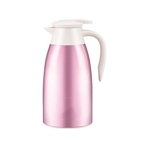WLHW Trinkflaschen Isolationstopf Edelstahl 304 Flasche Kleiner Wasserkocher Kaffeekanne Thermos Haushaltskessel Dauerhafte Isolierung Flasche (yazi) (größe : A)