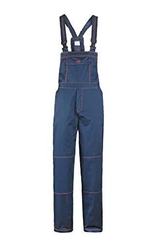 Primo - Pantalones con Peto de Trabajo para Hombre - Azul 46