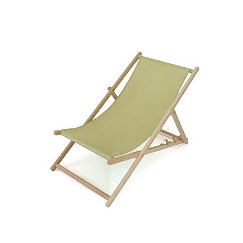 Liegestuhl aus Holz | 2er SET! | Dreistufig verstellbar | Türkis | 11 Farben | Sonnenliege...