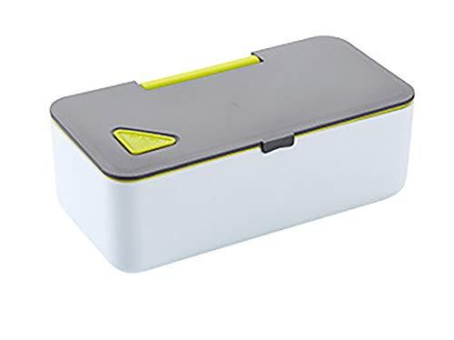 ZUEN Japanisch Bento Box Food Storage Box für Kinder,Green Green Food Storage