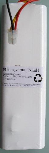 Original Husqvarna Akku/Batterie/Battery mit ausführlicher Photodokumentation für Automower G2, 220AC, 230ACX 18V 2,2Ah + 3 Titan-Messer