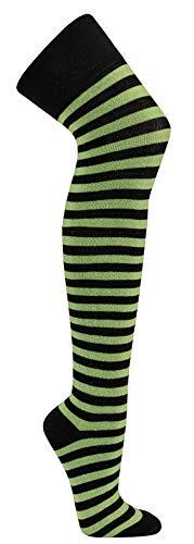 Krautwear Rodnik Wear® Mujer overknees rayas Medias