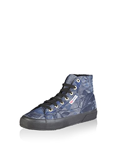 Superga , Chaussures en forme de bottines femme Denim