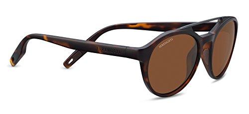 Serengeti leandro, occhiali da sole con lenti fotocromatiche unisex – adulto, satin tortoise, m