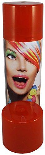 Color Haarspray 250ml | 7 Farben | Haarfarben Fasching Karneval Halloween farbig (Rot) (Haarspray Rotes Halloween)
